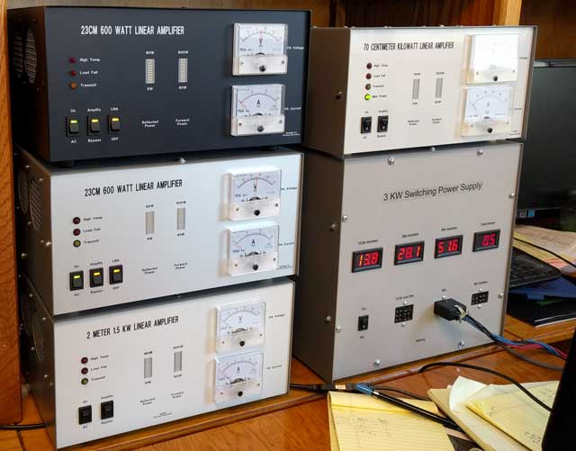 High power amplifier for 1296