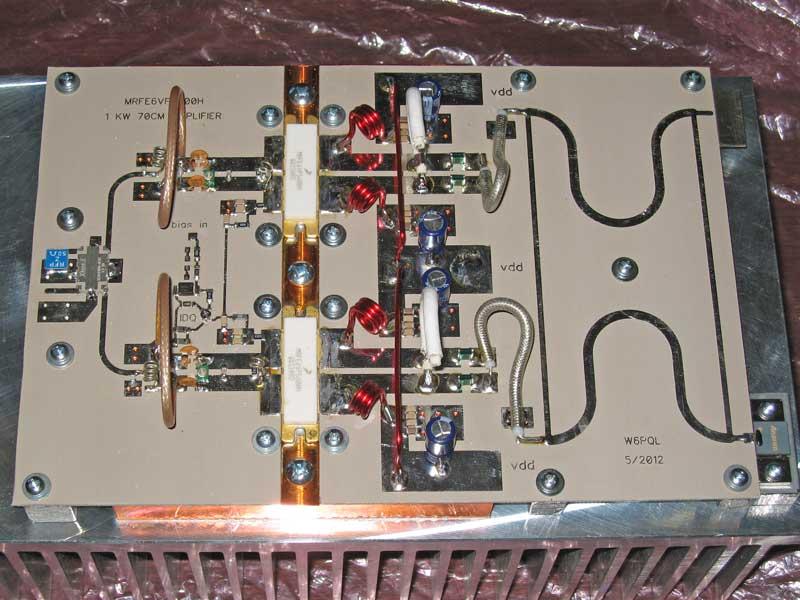 1KW 70cm LDMOS Amplifier