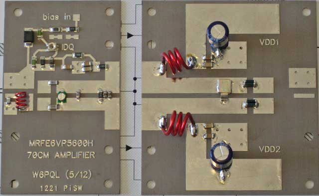 500w assembly guide for 70cm amplifier