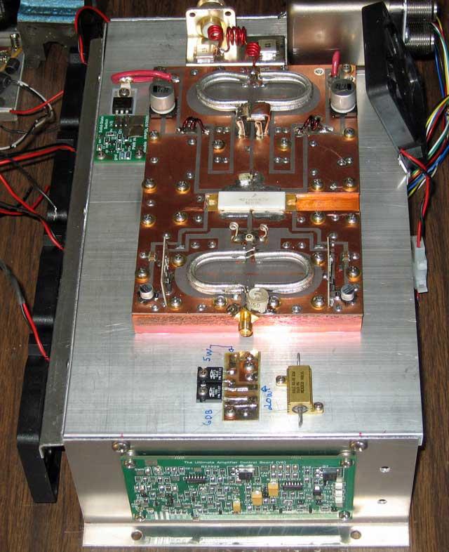 1 KW 222 MHz LDMOS Amplifier