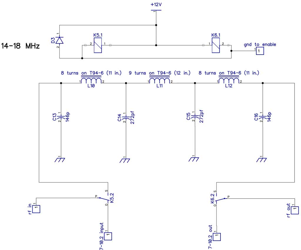 A 15 Kw Lpf For 160 6m Build Lowpass Filter Circuit Diagram Electronic Diagrams 20 17m Schematic