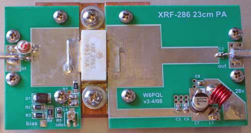 XRF-286 Amplifiers for 23cm