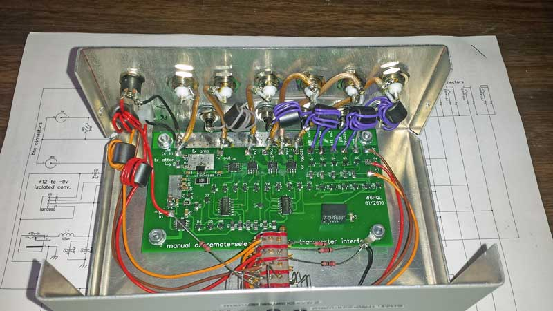 Automatic Transverter Interface
